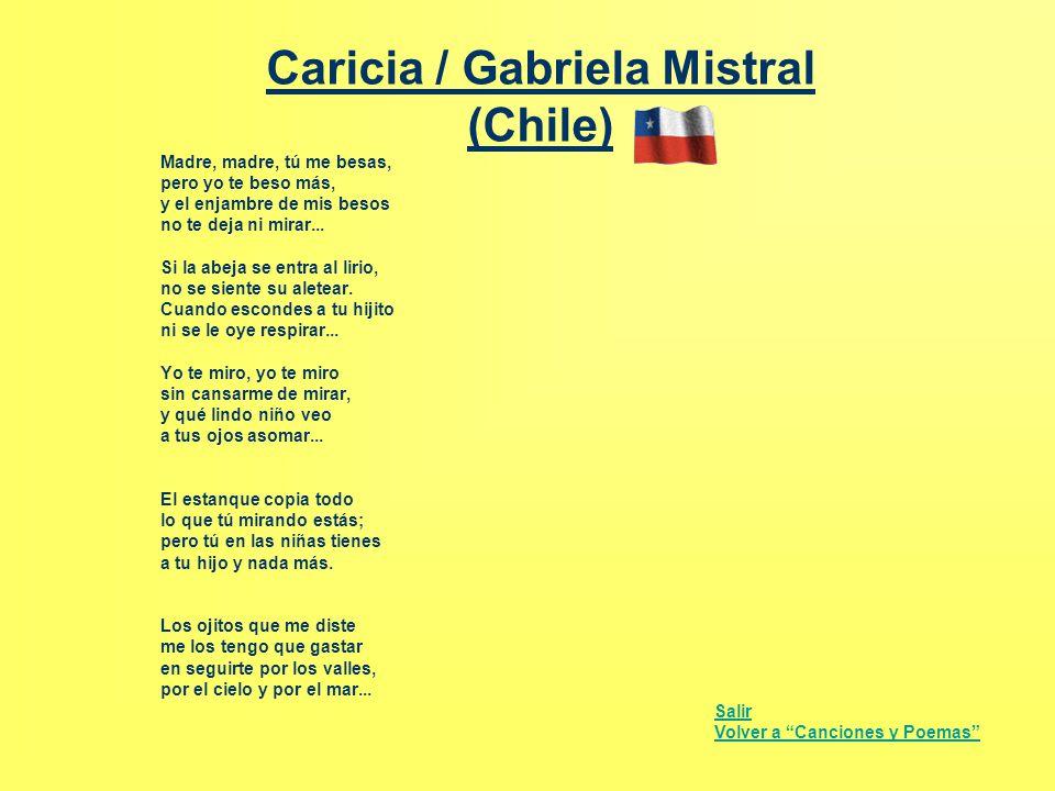 Caricia / Gabriela Mistral (Chile)