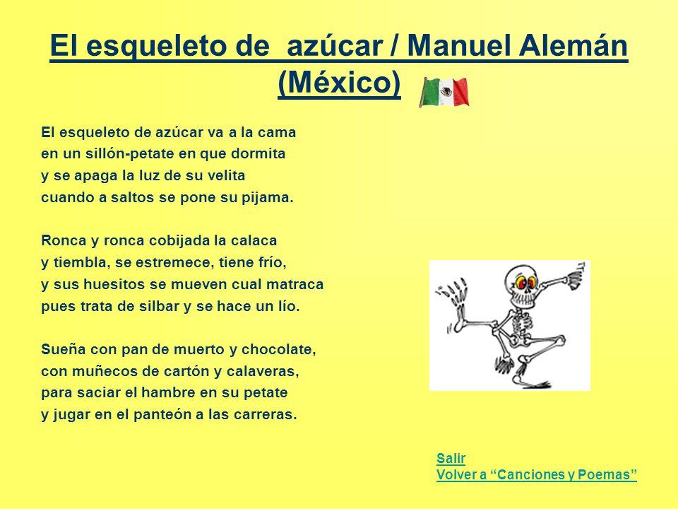 El esqueleto de azúcar / Manuel Alemán (México)
