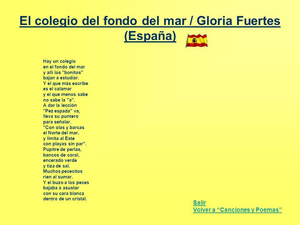 El colegio del fondo del mar / Gloria Fuertes (España)