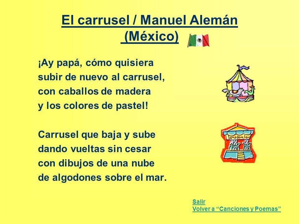 El carrusel / Manuel Alemán (México)