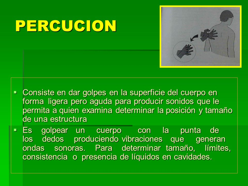 PERCUCION