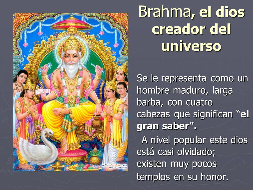 Brahma, el dios creador del universo