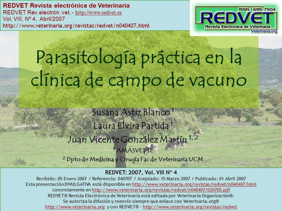 Parasitología práctica en la clínica de campo de vacuno