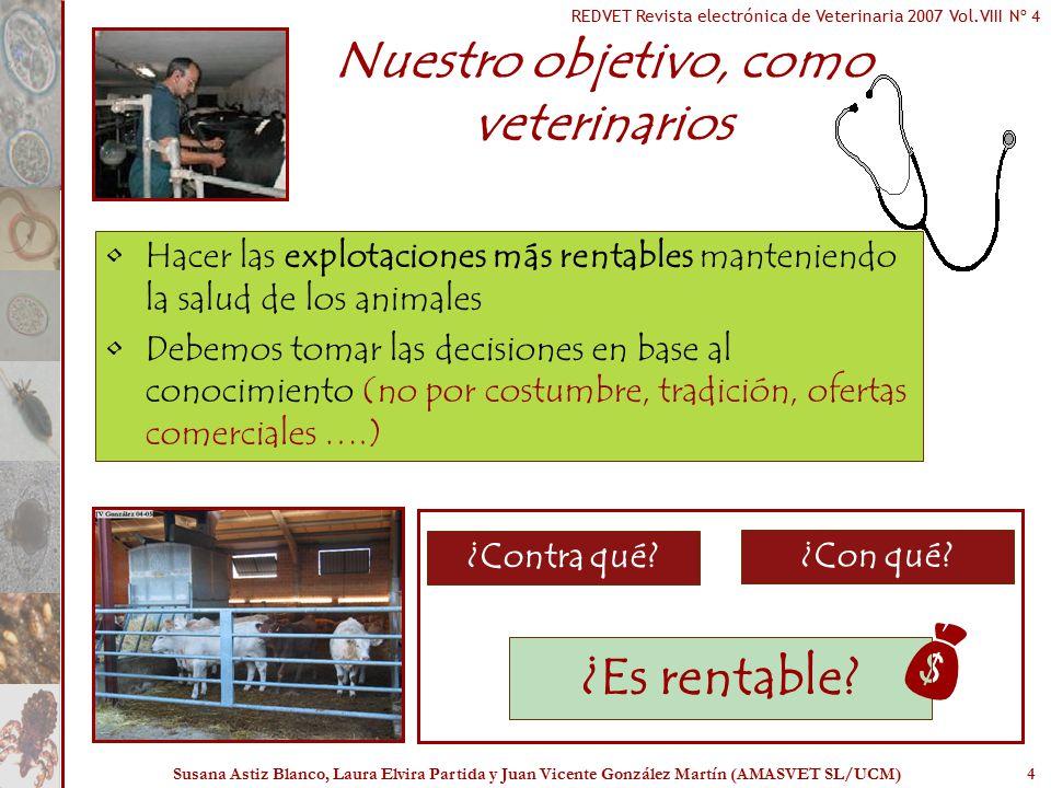 Nuestro objetivo, como veterinarios