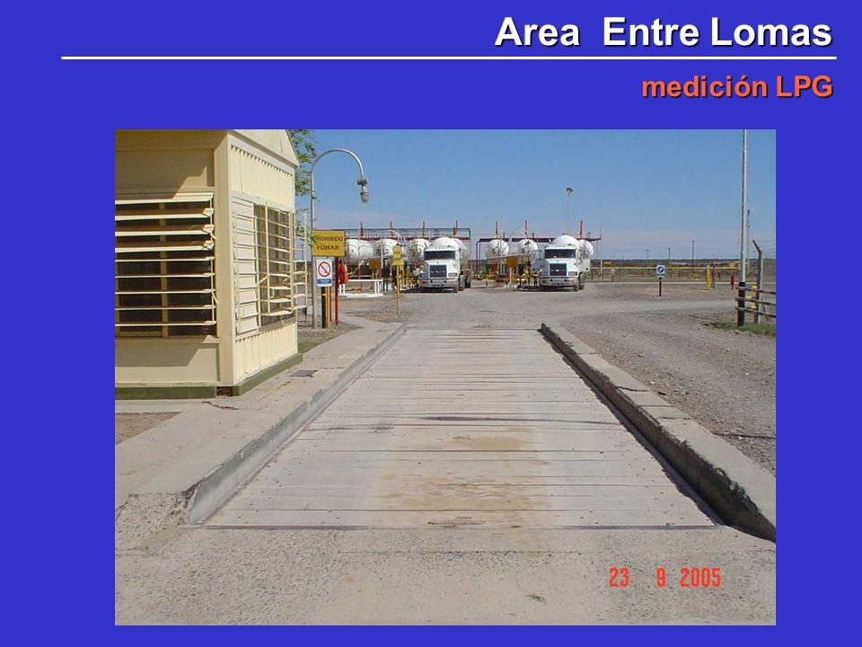 Area Entre Lomas medición LPG