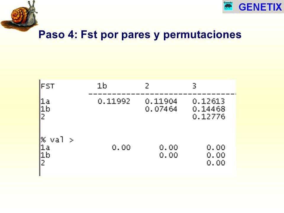 Paso 4: Fst por pares y permutaciones