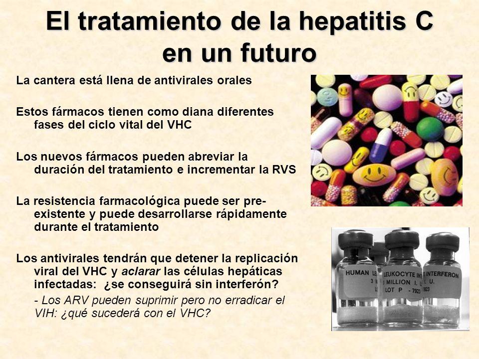 El tratamiento de la hepatitis C en un futuro