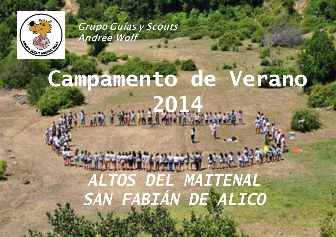 Campamento de Verano 2014 ALTOS DEL MAITENAL SAN FABIÁN DE ALICO