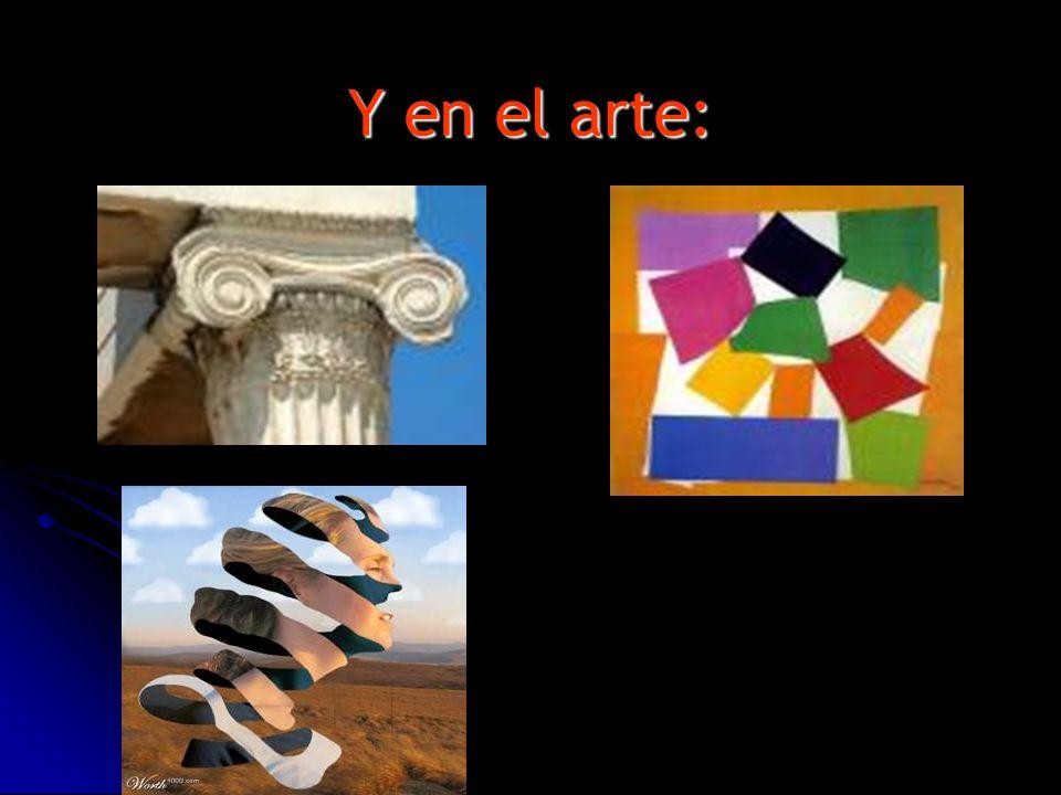 Y en el arte: