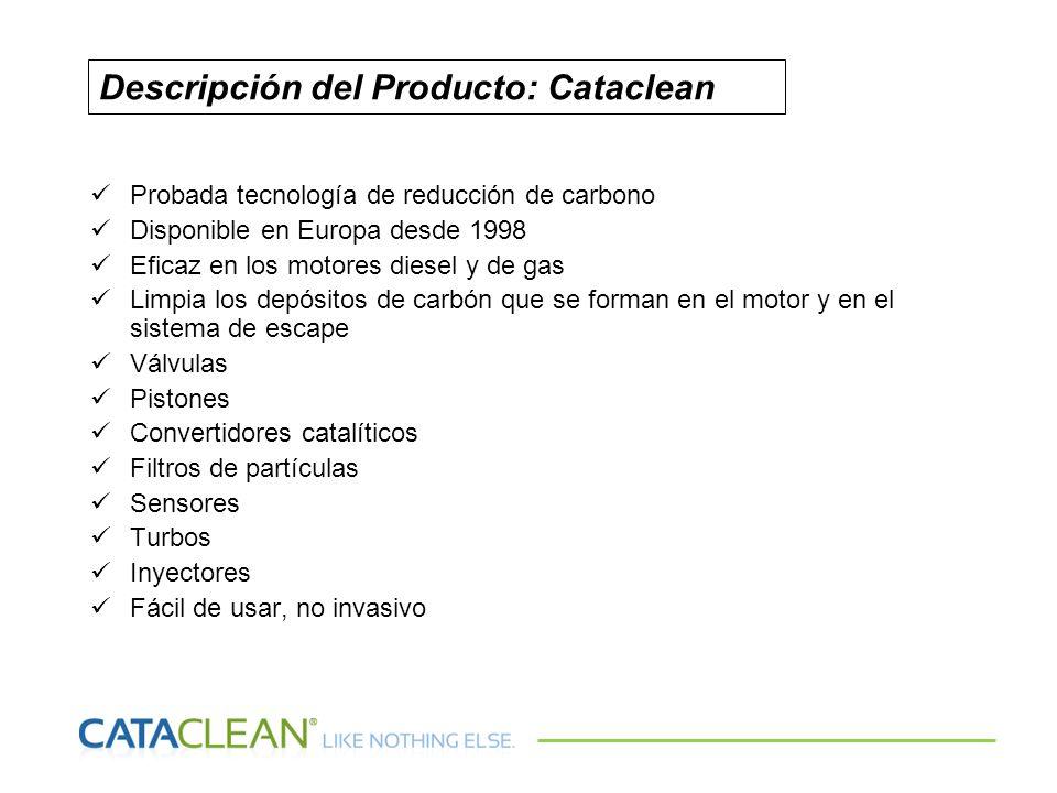 Descripción del Producto: Cataclean