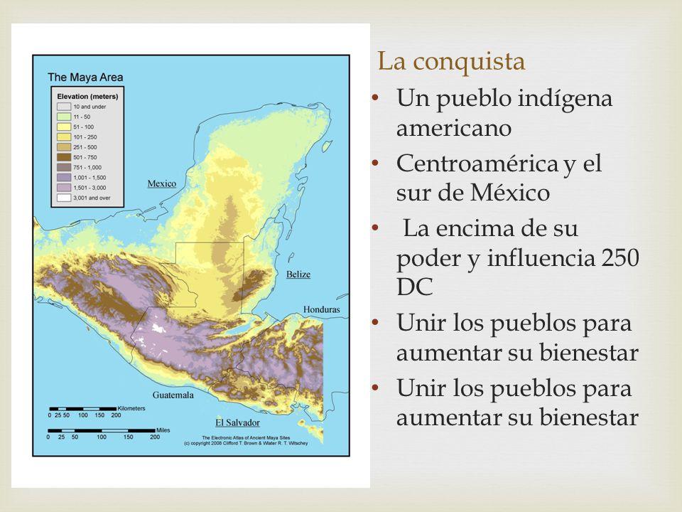 La conquista Un pueblo indígena americano