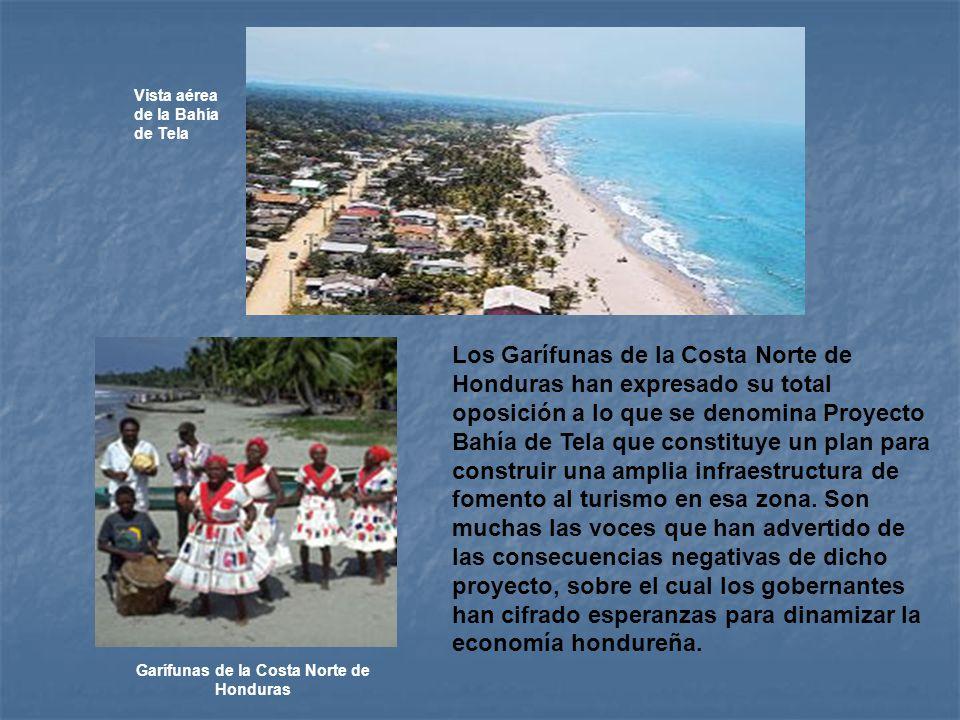 Garífunas de la Costa Norte de Honduras