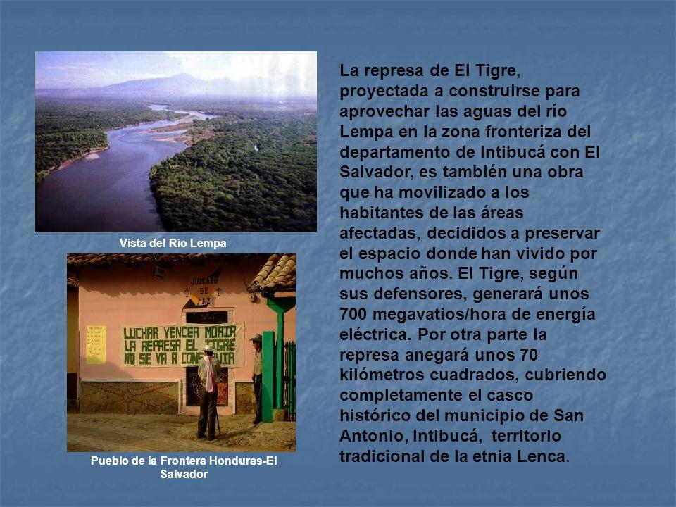 Pueblo de la Frontera Honduras-El Salvador