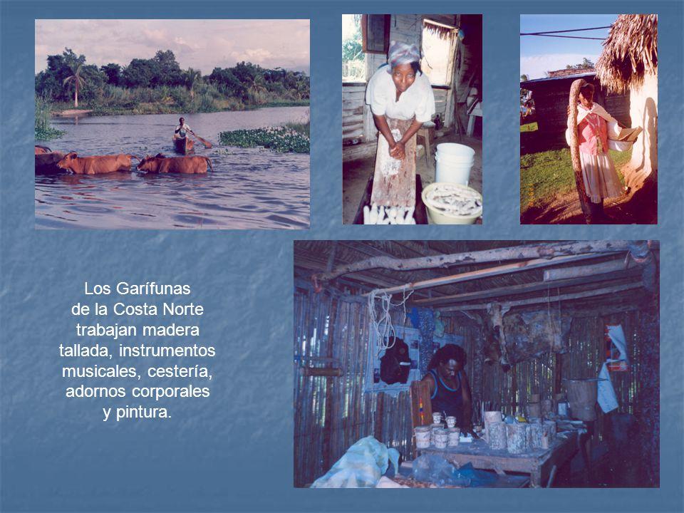 Los Garífunas de la Costa Norte.