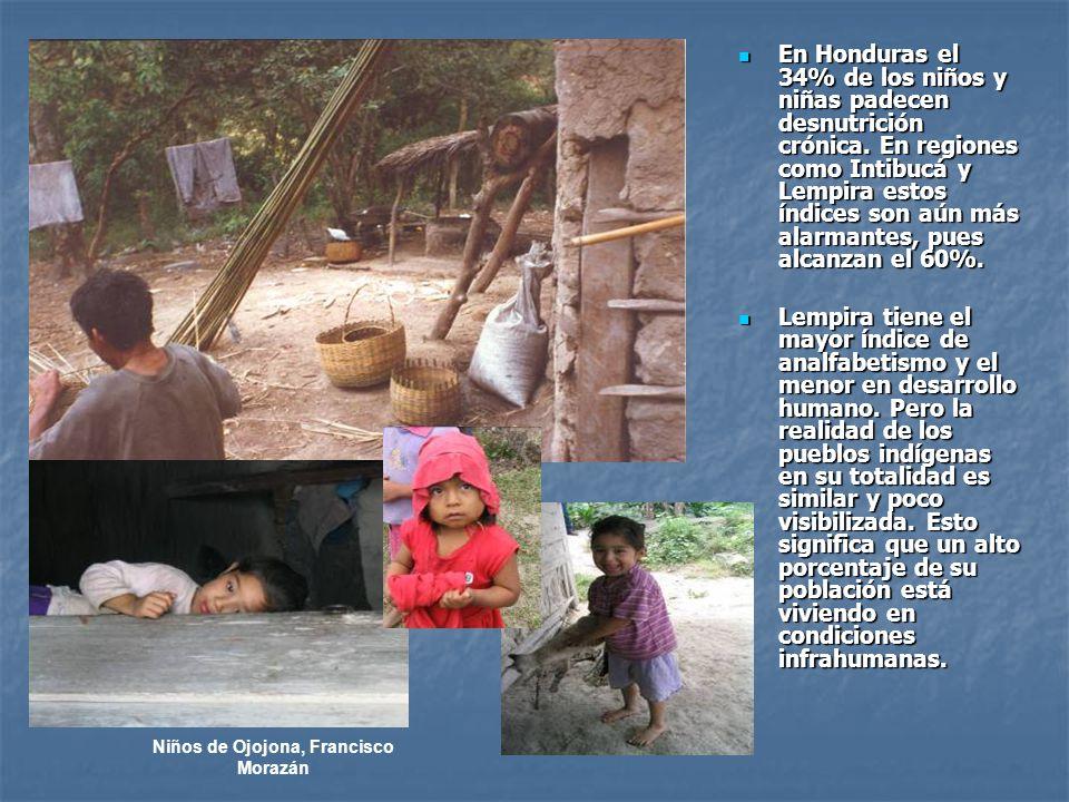 Niños de Ojojona, Francisco Morazán