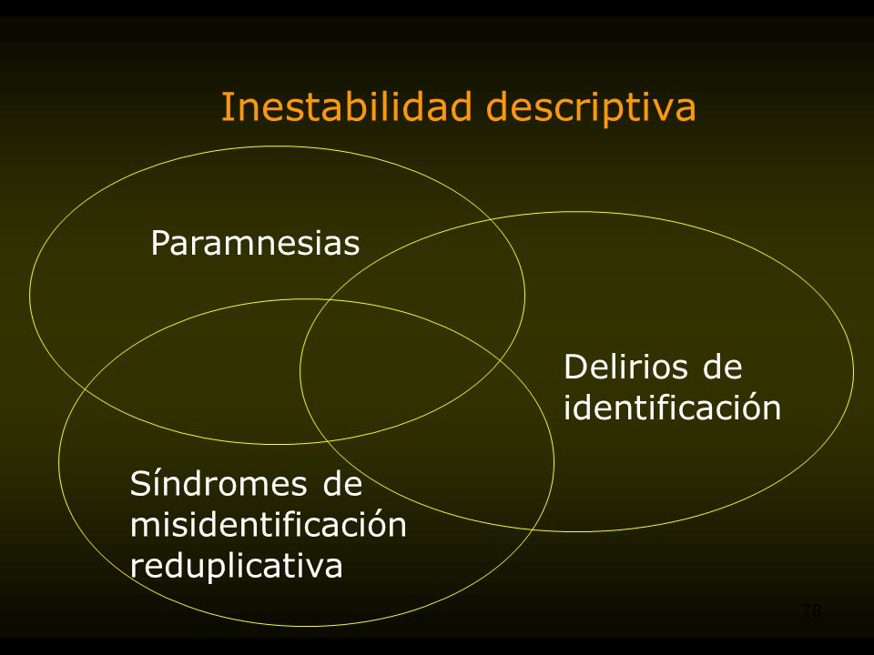 Inestabilidad descriptiva