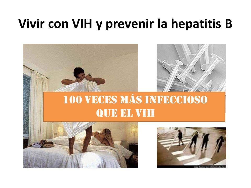 Vivir con VIH y prevenir la hepatitis B