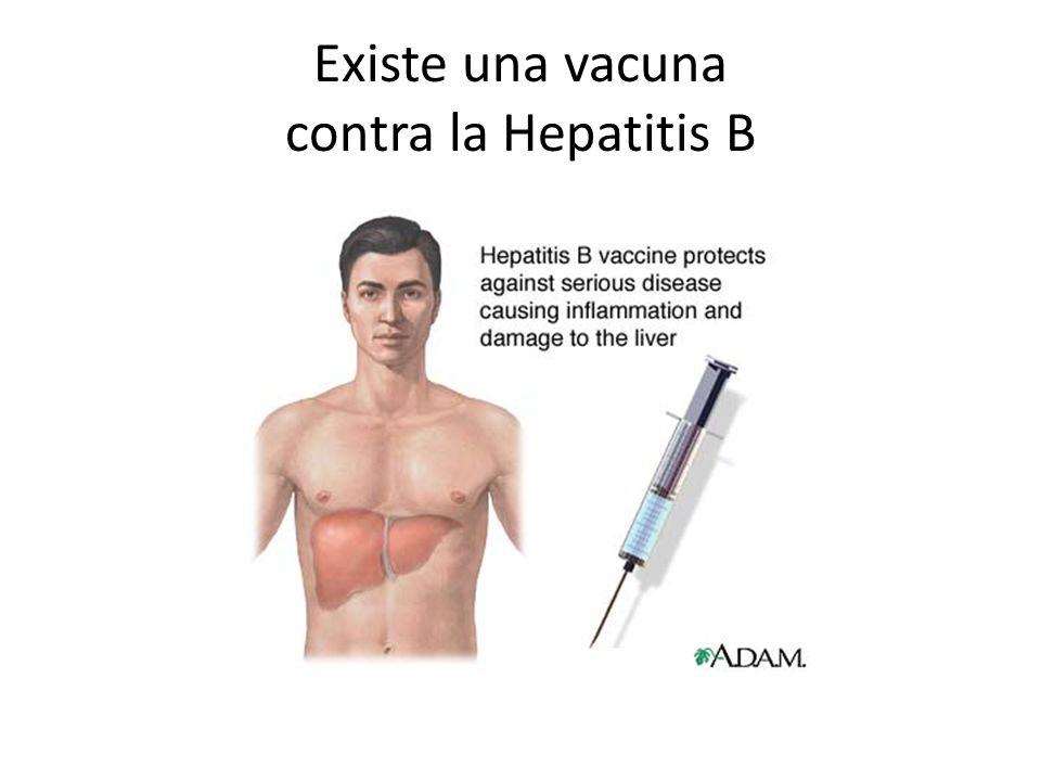 Existe una vacuna contra la Hepatitis B