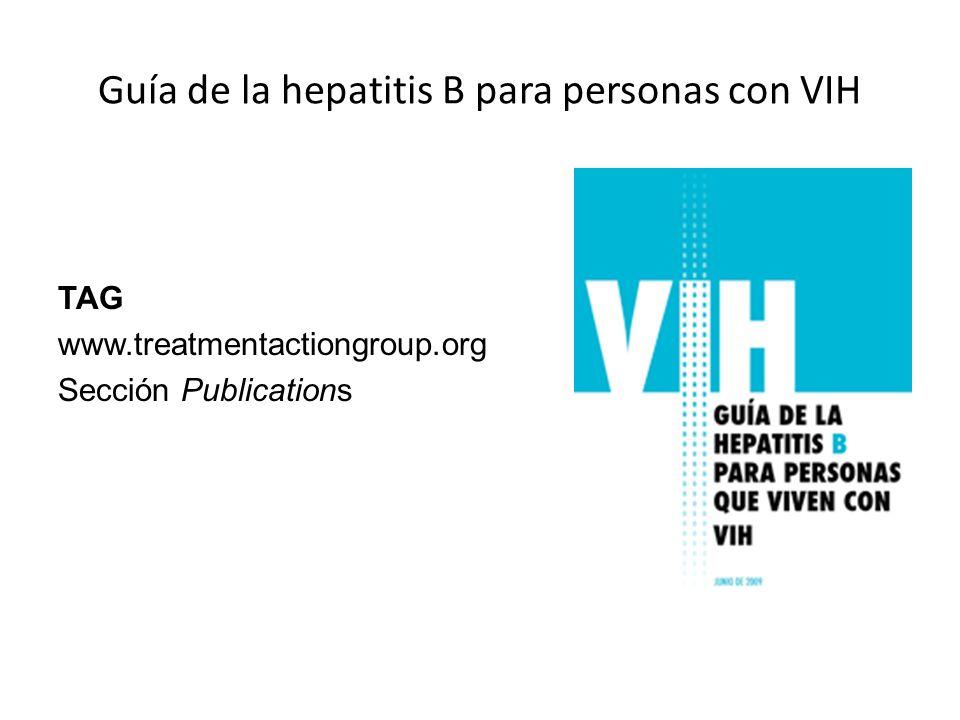 Guía de la hepatitis B para personas con VIH