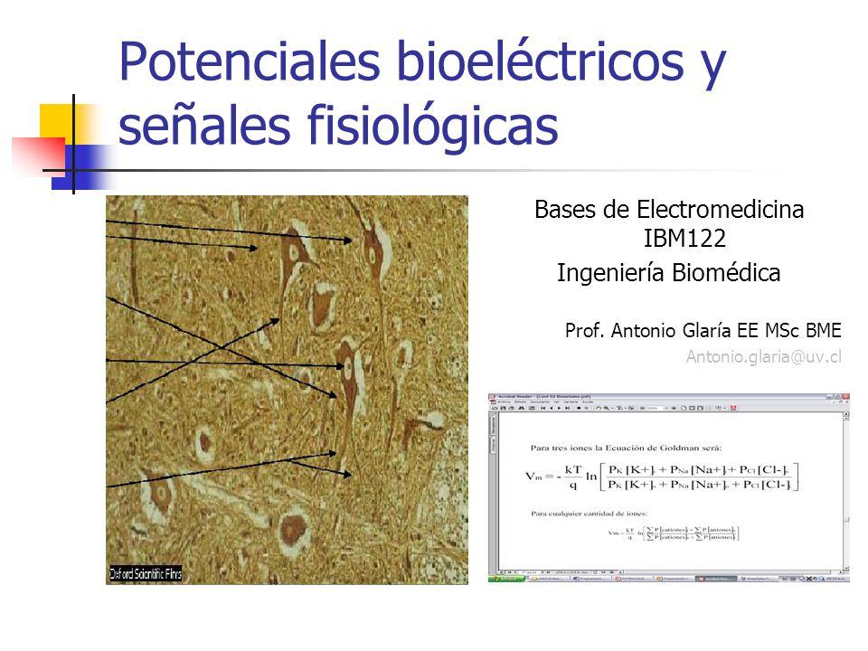 Potenciales bioeléctricos y señales fisiológicas