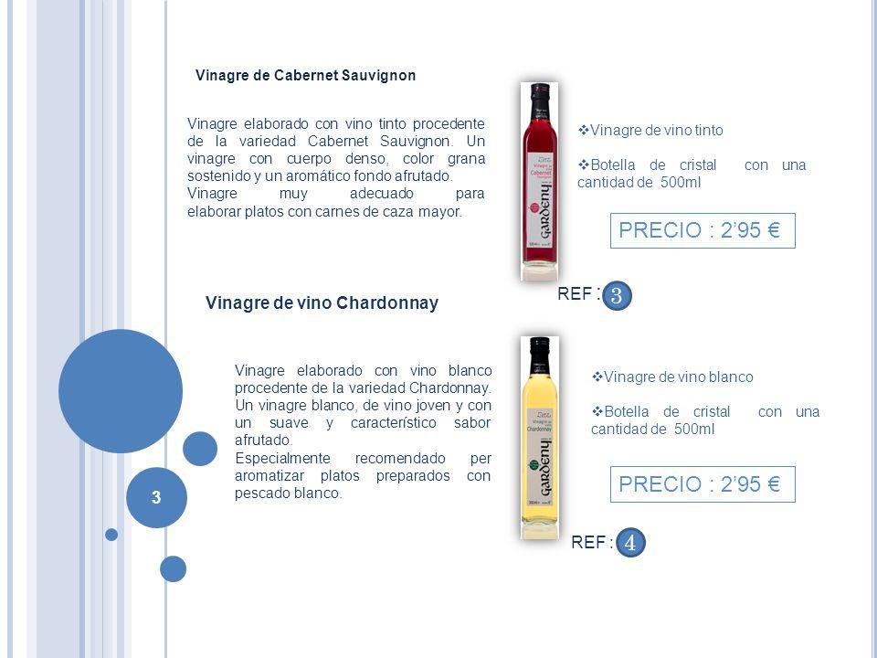 Vinagre de Cabernet Sauvignon