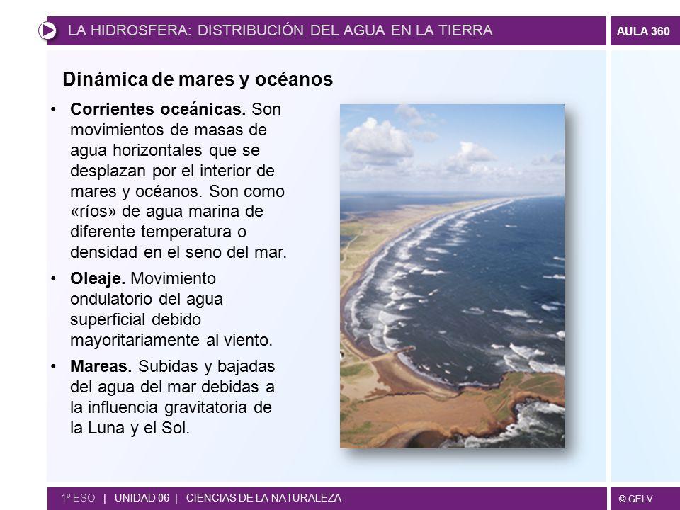 Dinámica de mares y océanos