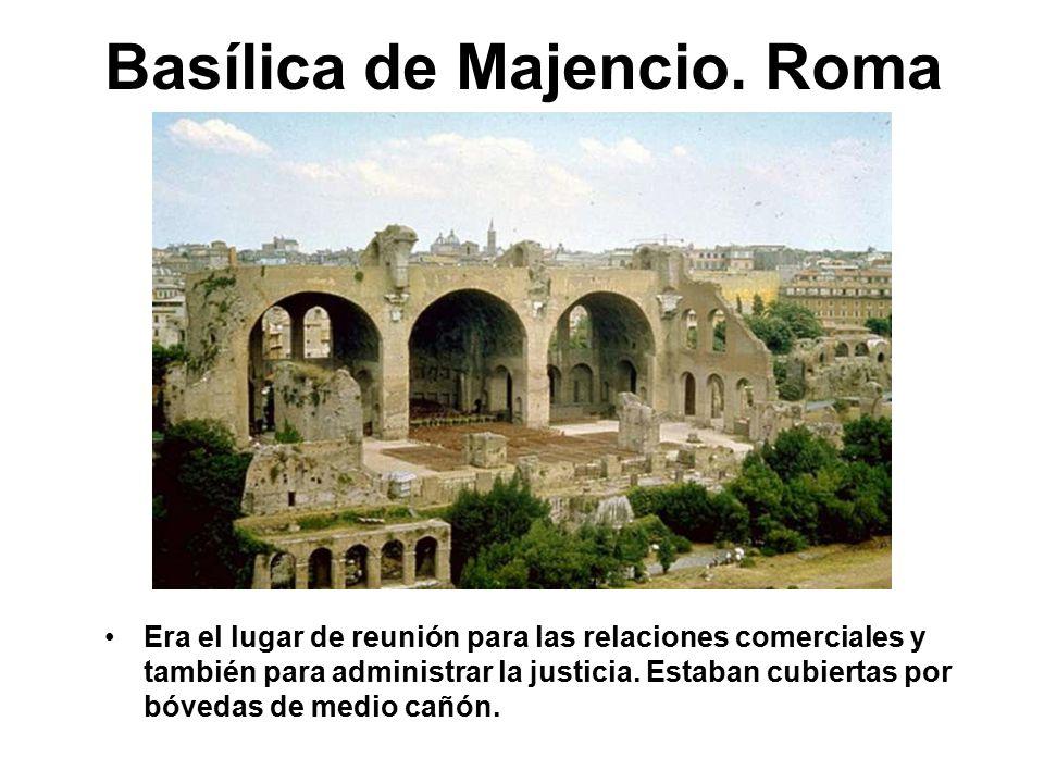Basílica de Majencio. Roma