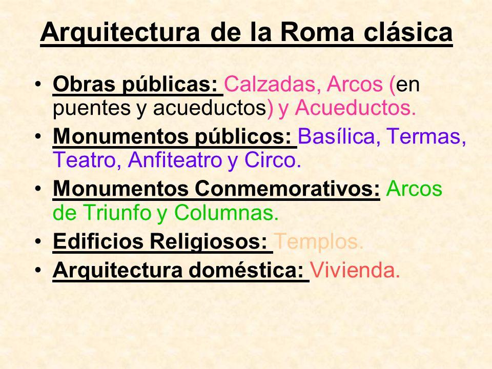Arquitectura de la Roma clásica