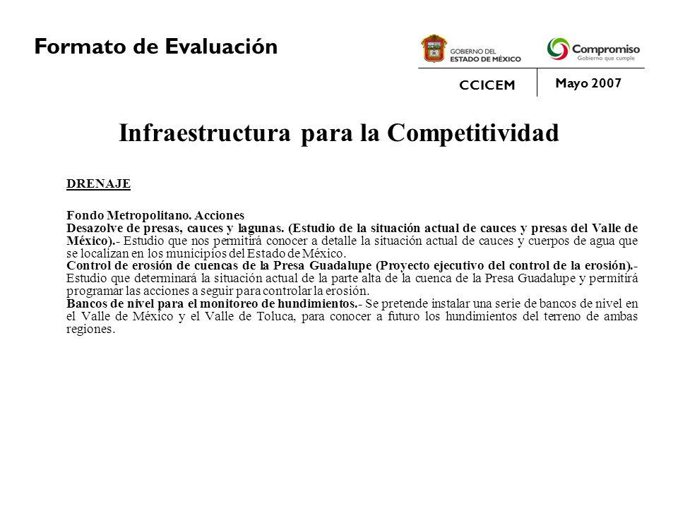 Infraestructura para la Competitividad
