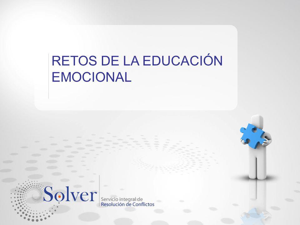 RETOS DE LA EDUCACIÓN EMOCIONAL