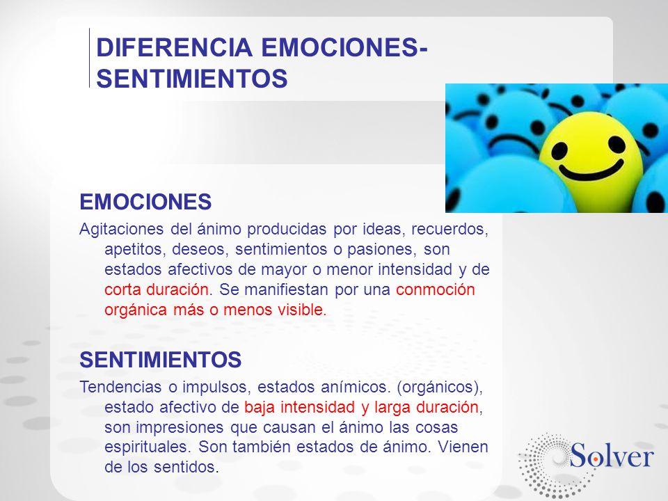 DIFERENCIA EMOCIONES-SENTIMIENTOS