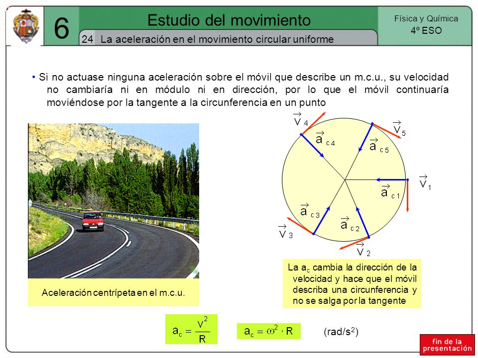 6 Estudio del movimiento 24