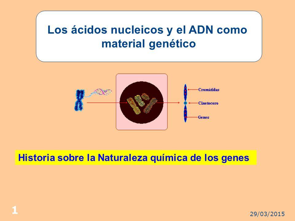 Los ácidos nucleicos y el ADN como