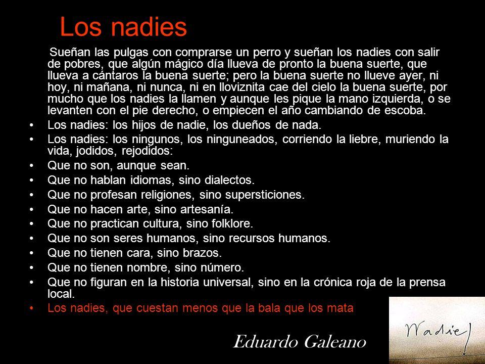 Los nadies Eduardo Galeano