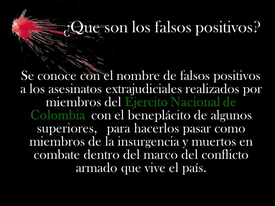 ¿Que son los falsos positivos