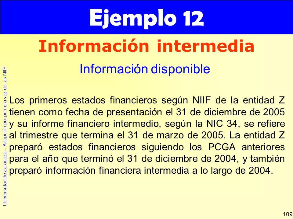 Información intermedia