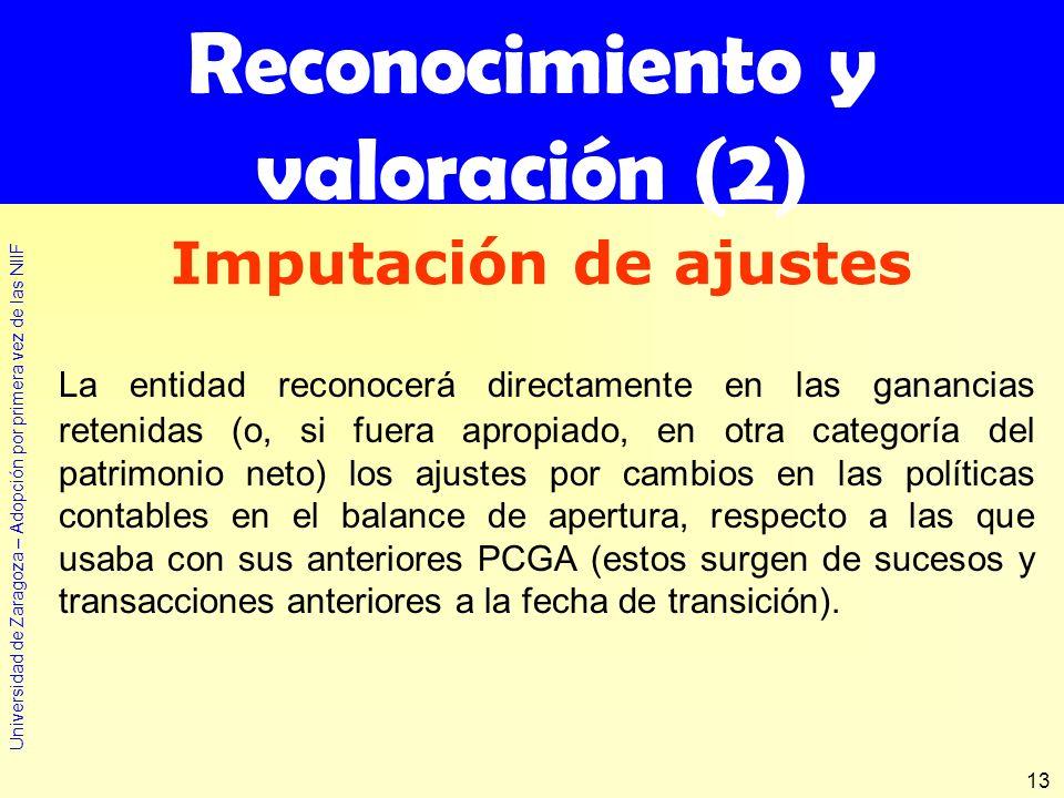 Reconocimiento y valoración (2)
