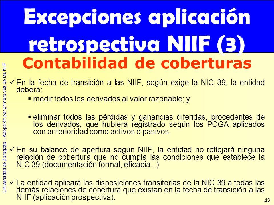 Excepciones aplicación retrospectiva NIIF (3)