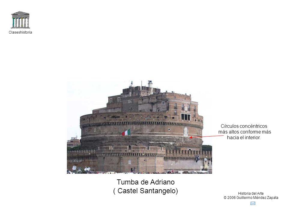 Tumba de Adriano ( Castel Santangelo) Círculos concéntricos