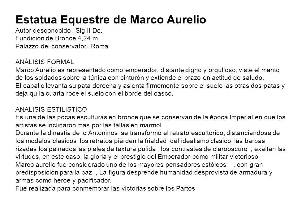 Estatua Equestre de Marco Aurelio