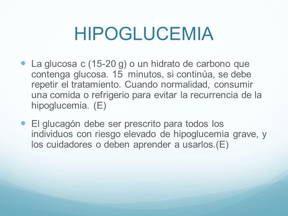 HIPOGLUCEMIA