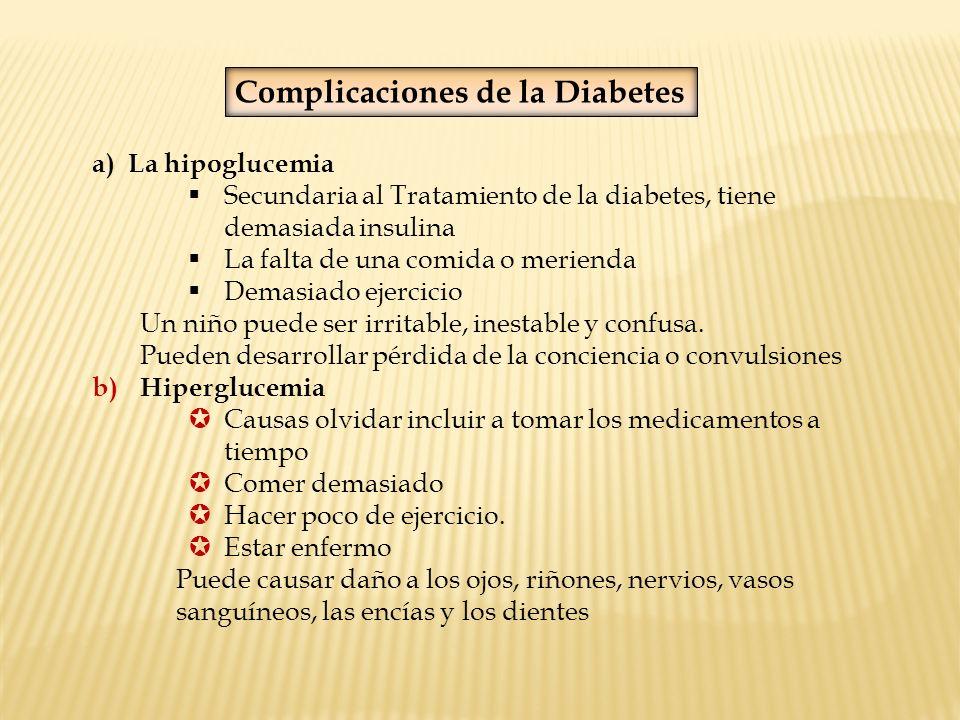 Complicaciones de la Diabetes