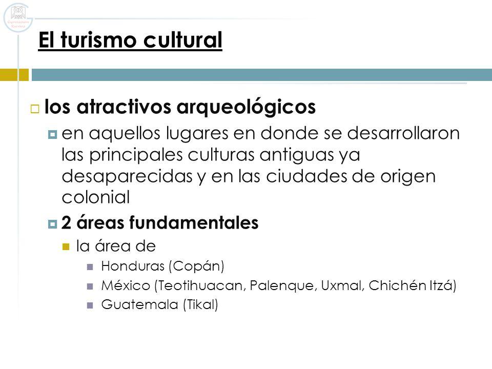 El turismo cultural los atractivos arqueológicos