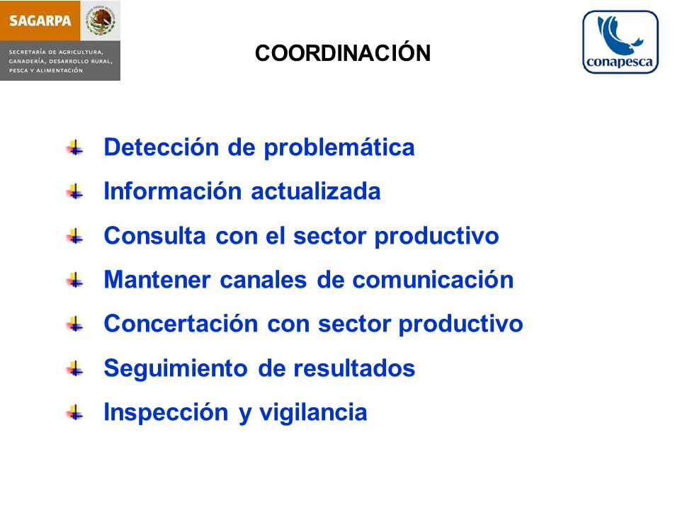 Detección de problemática Información actualizada
