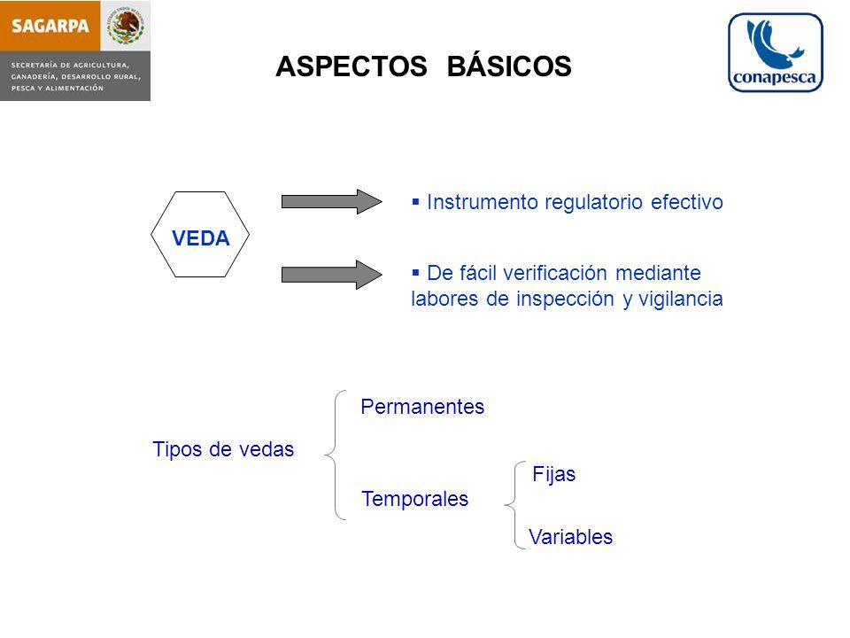 ASPECTOS BÁSICOS Instrumento regulatorio efectivo VEDA