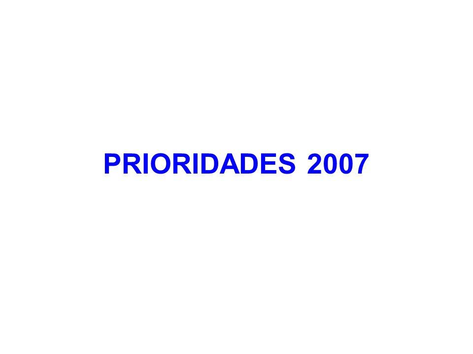 PRIORIDADES 2007