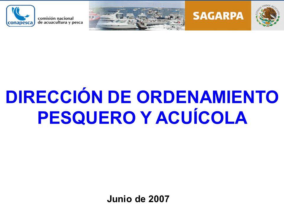 DIRECCIÓN DE ORDENAMIENTO PESQUERO Y ACUÍCOLA