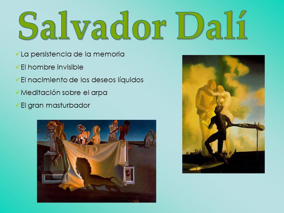 Salvador Dalí La persistencia de la memoria El hombre invisible