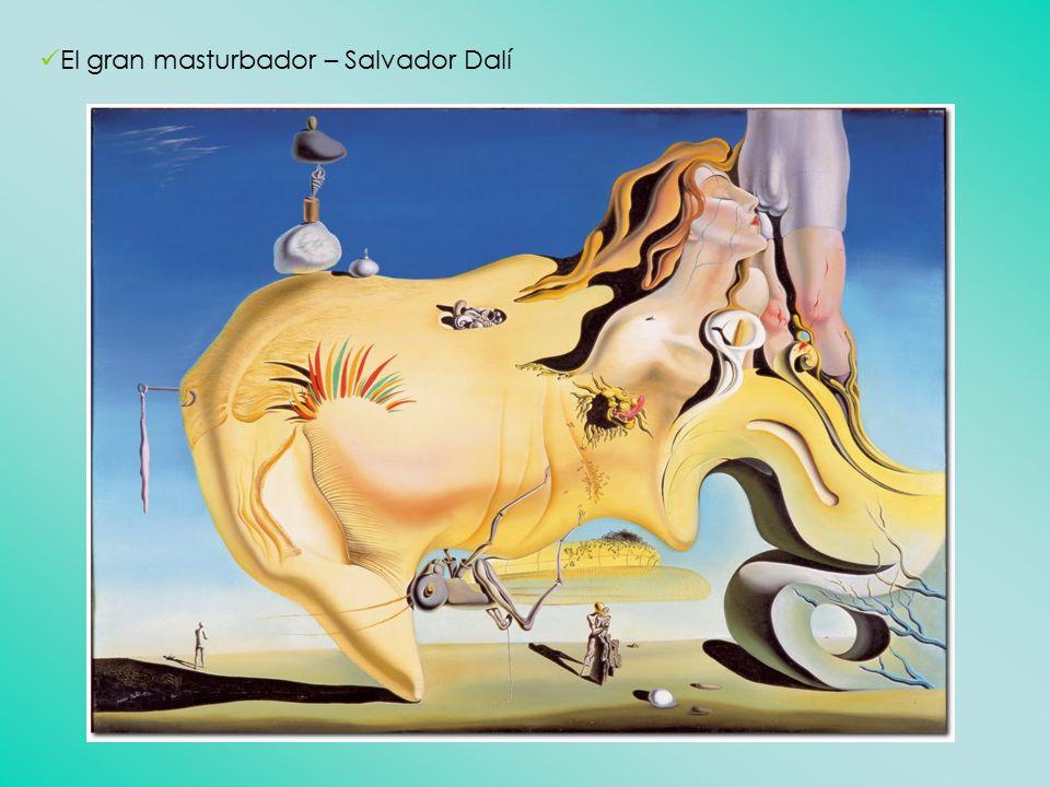 El gran masturbador – Salvador Dalí