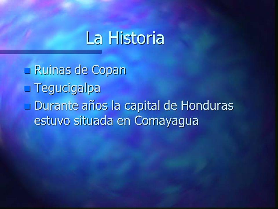 La Historia Ruinas de Copan Tegucigalpa